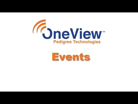 Events in OneView