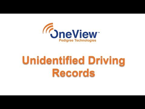Unidentified Records in OneView