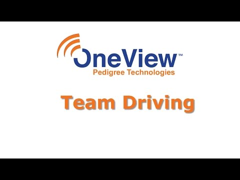 Team Driving in POV - Pedigree Technologies
