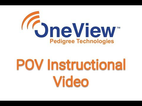 OneView POV Instructional Video