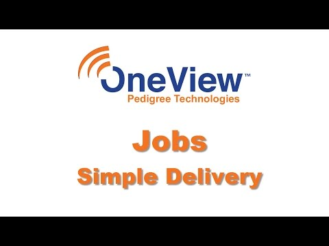OneView's Job Templates - Simple Delivery