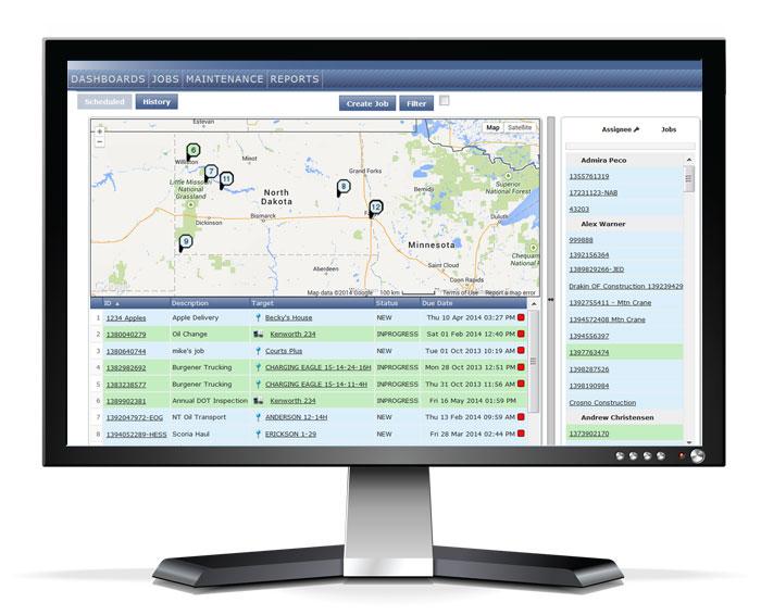 Dispatching Software Screenshot