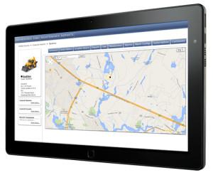 Equipment Management Tablet