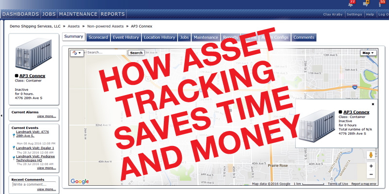 How Asset Tracking Saves Time and Money