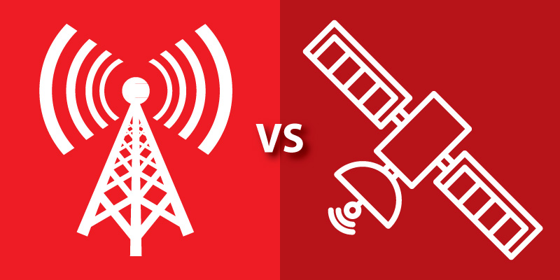 Cellular vs. Satellite