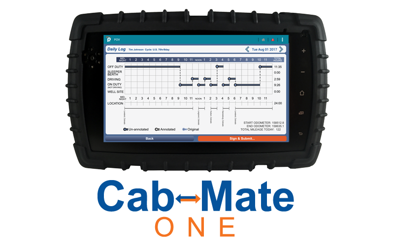 Cab-Mate One Device header image