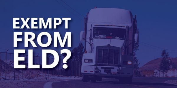 Exempt from ELD?