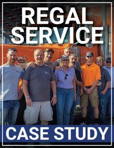 Magazine mock cover of Regal Studies case study