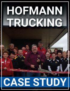mock cover Hofmann Trucking case study