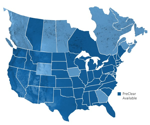 Blog Drivewyze PreClear coverage: North America