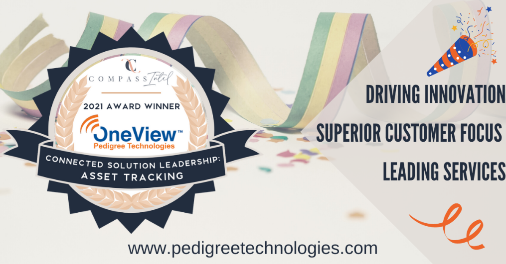 Pedigree Technologies Wins 2021 Connected Solutions Leadership Award in Asset Tracking
